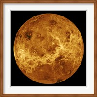 Global view of the Surface of Venus Fine Art Print