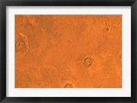Tharsis Region of Mars Fine Art Print