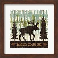 Simple Living Moose Fine Art Print