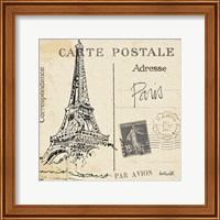 Postcard Sketches III Fine Art Print