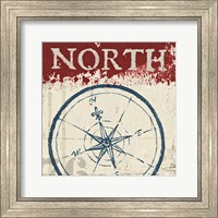 Nautical I Red Fine Art Print
