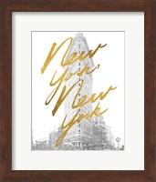 Gilded New York Fine Art Print