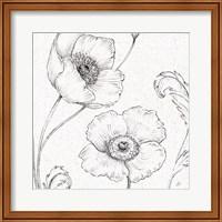 Blossom Sketches I Fine Art Print