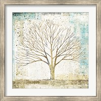 Solitary Tree Collage Fine Art Print