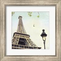 Paris Eiffel Letter Fine Art Print