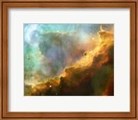 A Perfect Storm of Turbulent Gases in the Omega/Swan Nebula (M17) Fine Art Print