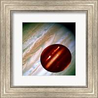Hubble/IRTF Composite Image of Jupiter Storms Fine Art Print