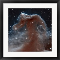 Hubble Sees a Horsehead of a Different Color Fine Art Print