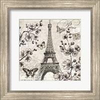 Paris in Bloom I Fine Art Print