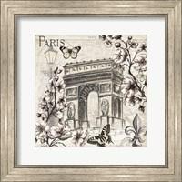 Paris in Bloom II Fine Art Print