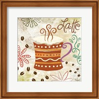 Colorful Coffee IV Fine Art Print