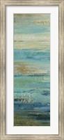 Blue Indigo Panel I Fine Art Print