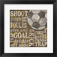 All Star Sports I Fine Art Print