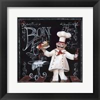 Chalkboard Chefs II Fine Art Print