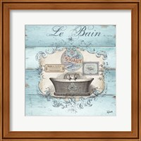Rustic French Bath II Fine Art Print
