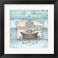 Rustic French Bath II Fine Art Print