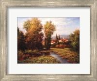 Italian River Bend Fine Art Print