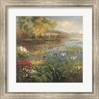 Village Pond Fine Art Print