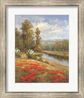 Poppy Vista I Fine Art Print