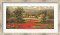 Poppy Village Fine Art Print