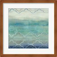 Abstract Waves Blue/Gray I Fine Art Print