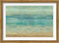 Abstract Waves Blue Fine Art Print