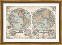 World Hemispheres Fine Art Print