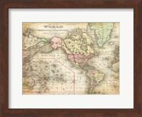 World Map 4 Fine Art Print