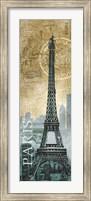 Paris Map Fine Art Print