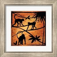 Safari Silhouette II Fine Art Print