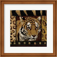 Tiger Bordered Fine Art Print