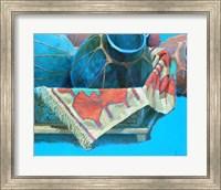 Blue Pots 3 Fine Art Print