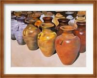Pottery Row Fine Art Print