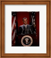 Lyndon B. Johnson, 36th President of the United States Fine Art Print