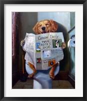 Dog Gone Funny Fine Art Print