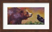 Bear and Birds Fine Art Print