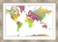 World Map 9 Fine Art Print