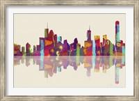 Brisbane Qld Skyline 1 Fine Art Print