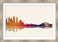 Sydney NSW Skyline 2 Fine Art Print