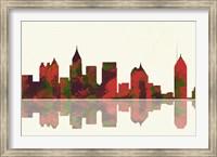 Atlanta Georgia Skyline 1 Fine Art Print