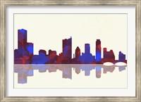 Austin Texas Skyline 1 Fine Art Print