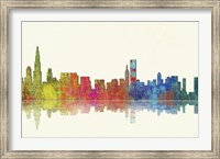 Chicago Illinios Skyline 1 Fine Art Print