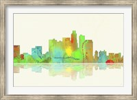 Los Angeles California Skyline 1 Fine Art Print