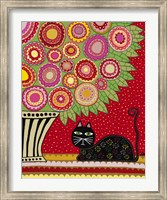 Feline Florist 1 Fine Art Print
