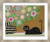 Feline Florist 2 Fine Art Print