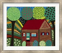 House In The Hills Fine Art Print