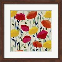 Cheerful Poppies Fine Art Print