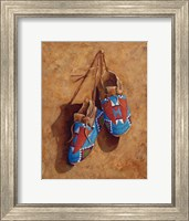A Child's Footsteps Fine Art Print