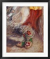 Dancing Moccasins Fine Art Print