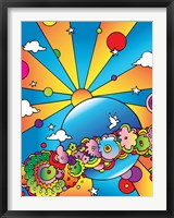 Cosmic Planet Fine Art Print